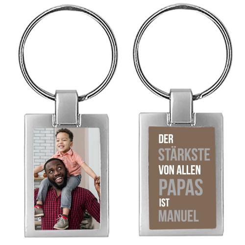 Schlüsselanhänger Stärkster Papa