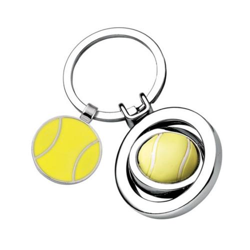 Schlüsselanhänger Tennisball graviert
