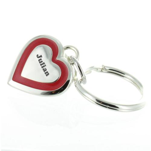 Schlüsselanhänger Valentinstag - graviert