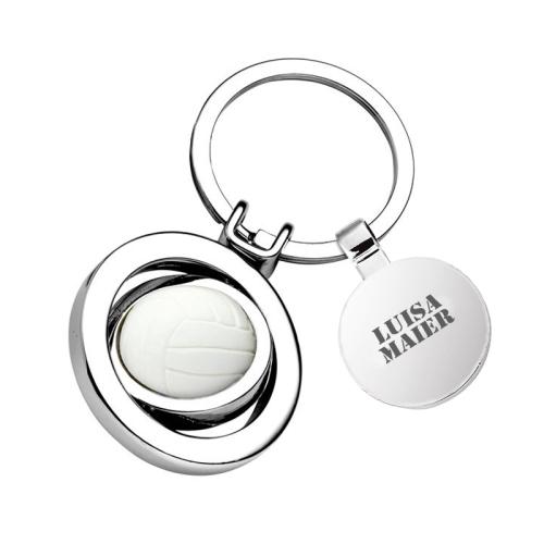 Schlüsselanhänger Volleyball mit Name