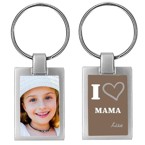 Schlüsselanhänger I love Mama