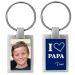 Schlüsselanhänger I love Papa