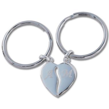 Schlüsselanhänger trennbare Herzen