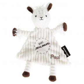 Personalisiertes Schmusetuch Muchachos das Lama