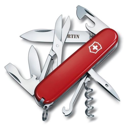 Schweizer Taschenmesser mit Name Klimber