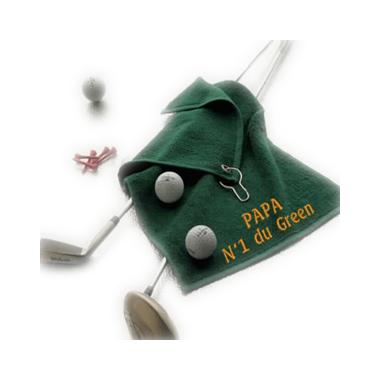 Golftuch mit individueller Bestickung