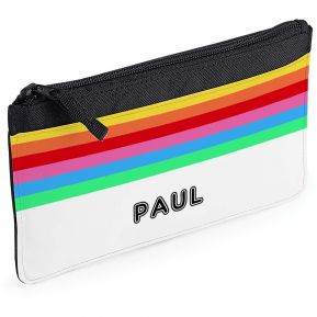 Stiftemappe Rainbow personalisiert