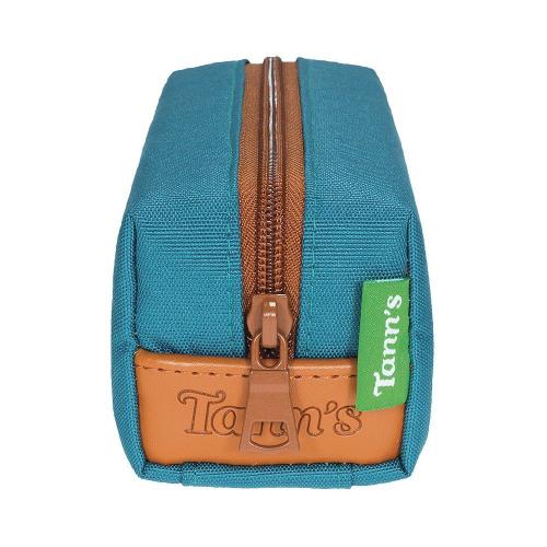 Tann's Federmappe entenblau doppelt, personalisiert