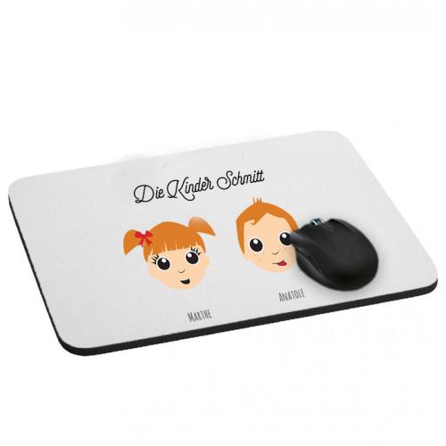Mousepad We Are Family 2 Vornamen