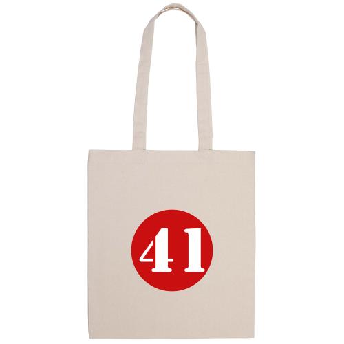 Tasche personalisiert mit farbiger Kreis