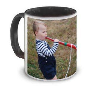 Tasse farbig mit Foto