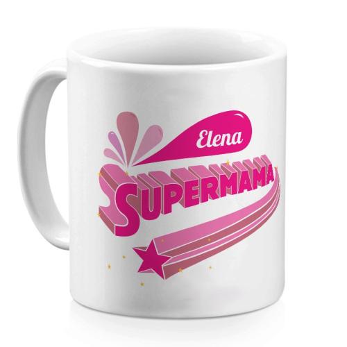 Tasse Supermama pink