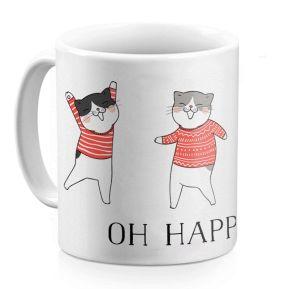 Personalisierte Tasse Weihnachtsparty
