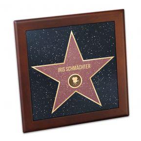 Telleruntersetzer Walk-of-Fame-Stern