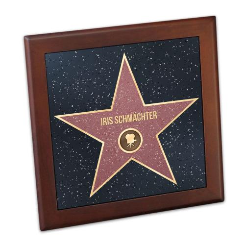 Telleruntersetzer Walk of Fame