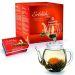 Teekanne und Erblühtee (weisser Tee)