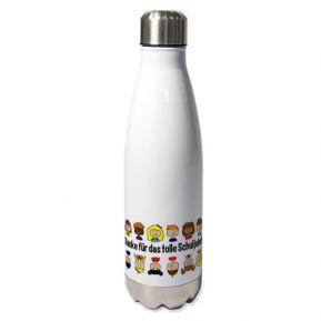Personalisierte Thermosflasche für Lehrerin
