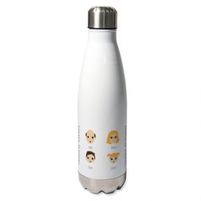 Personalisierte Thermosflasche We are Family