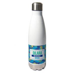 Personalisierte Thermosflasche Palmendesign