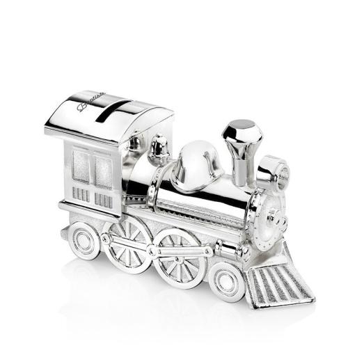 Lokomotive Spardose mit Personalisierung
