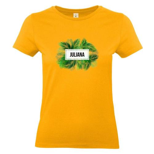 T-Shirt Damen Lifou aprikosenfarben