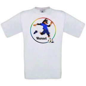 Personalisiertes T-Shirt für Kinder Mein Sport