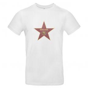T-Shirt Herren Walk-of-Fame-Stern