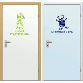 Türaufkleber fürs Kinderzimmer