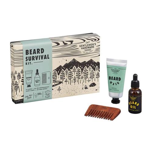 Überlebenskit für Bartträger