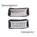 Armband Leder mit Gravur - 9095