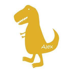 Wandsticker mit Name Dinosaurier