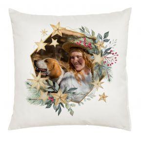 Personalisiertes Foto-Kissen Weihnachten