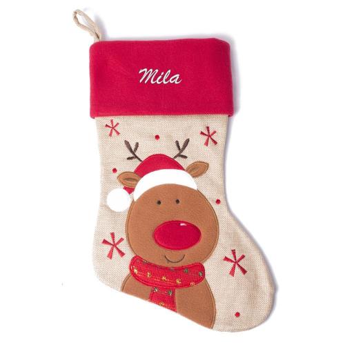 Weihnachtsstiefel für Kinder Rentier