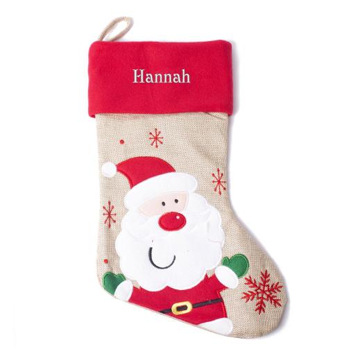 Weihnachtsstiefel für Kinder Weihnachtsmann
