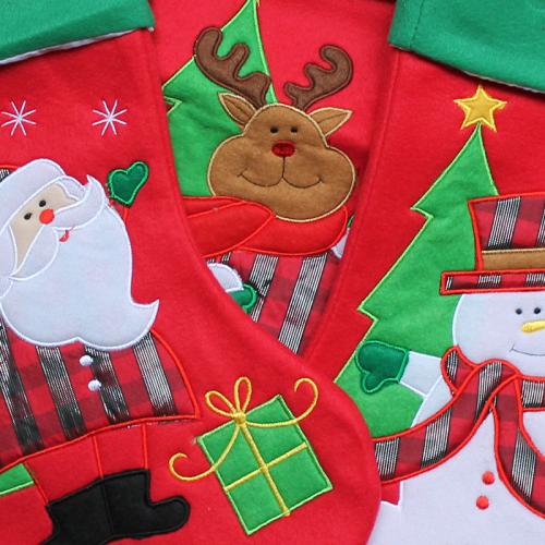 Weihnachtsstiefel Detail