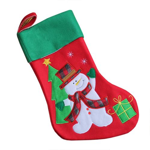 Weihnachtsstiefel Schneemann