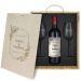 Weinbox mit Gläsern und personalisiertem Logo Hochzeit