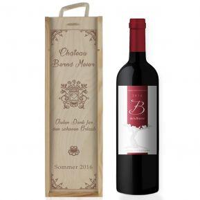 Weinkiste Tradition mit Gravur