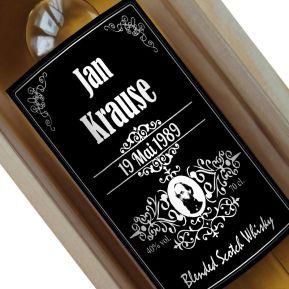 Personalisierte Whisky-Flasche Style Bourbon