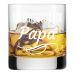 Whiskyglas mit Gravur für Papa Glas Papa