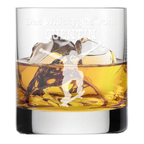 Whiskyglas mit Gravur für Sportler Skate