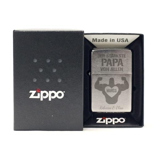 Feuerzeug Zippo® Stärkster Papa