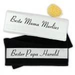 Handtuch Set beste Mama und bester Papa