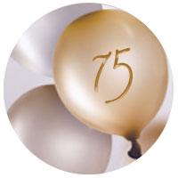 Personalisierte Geburtstagsgeschenke Frauen 75 Jahre
