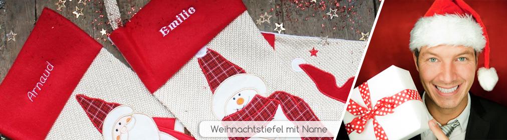 Personalisierte Weihnachtsdeko