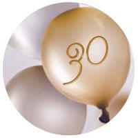 Personalisierte Geschenkideen zum 30. Geburtstag