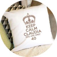 Personalisierte Kissen