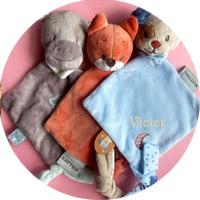 Personalisierte Schmusetücher für Babys