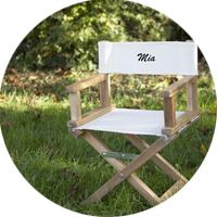 Personalisierte Stühle für Groß & Klein