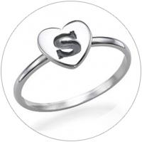 Personalisierte Ringe mit Gravur